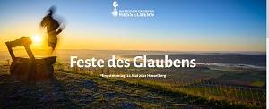 Pfingstmontag - Bayerischer Kirchentag online und am Hesselberg